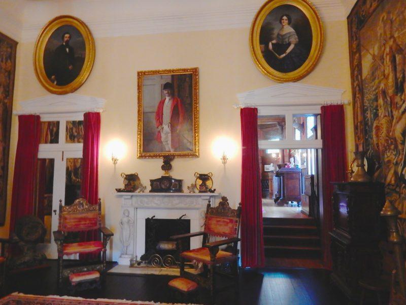 Davis Mansion Interior, Morven Park, Leesburg VA