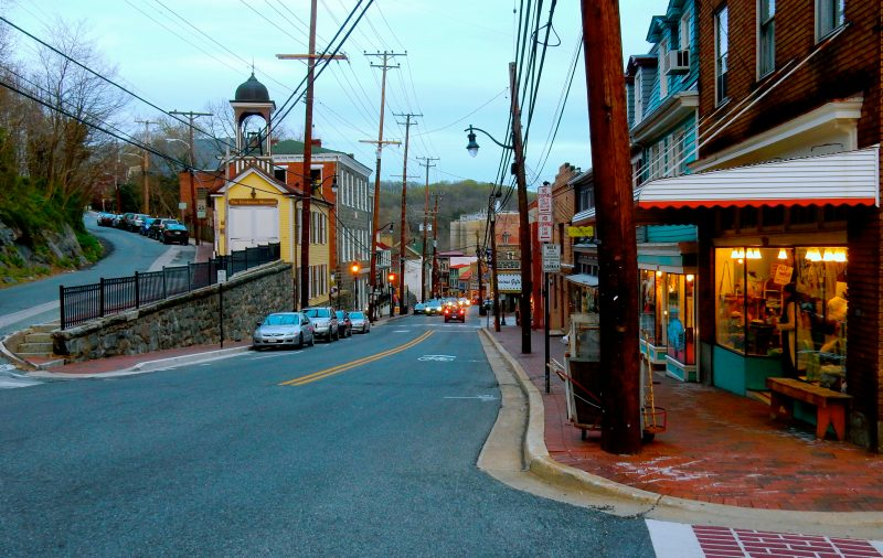 Downtown Ellicott City MD @GetawayMavens