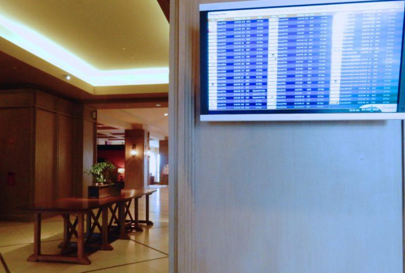 Dulles Airport Flight Info, Lansdowne Resort Lobby, Leesburg VA