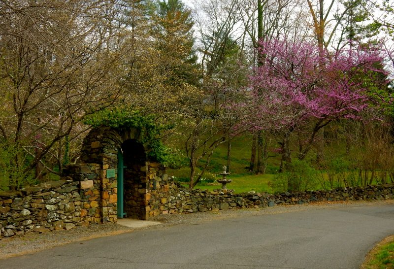 Entrance to Butterfly Garden, Airlie Resort, Warrenton VA
