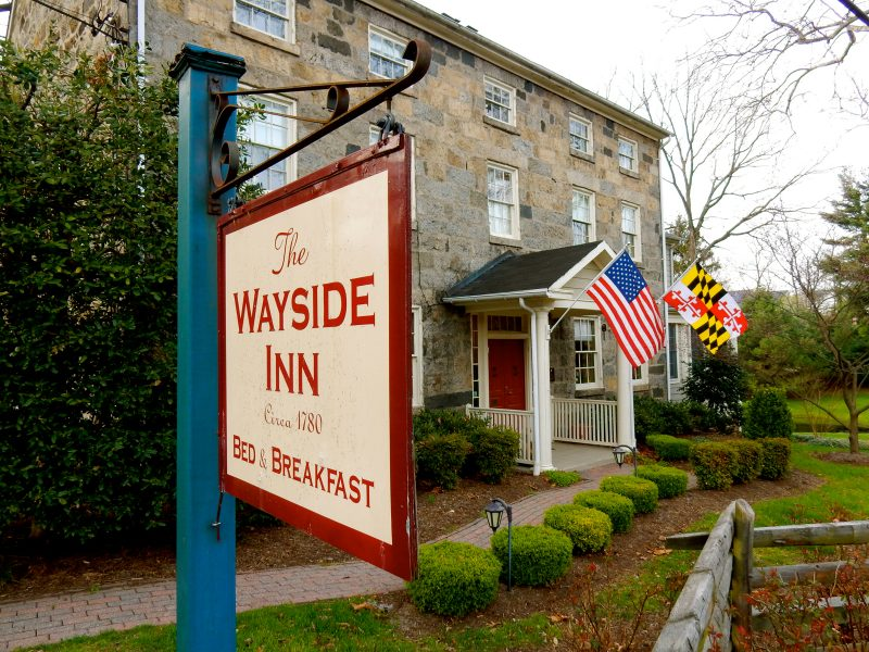 Exterior, Wayside Inn, Ellicott City MD