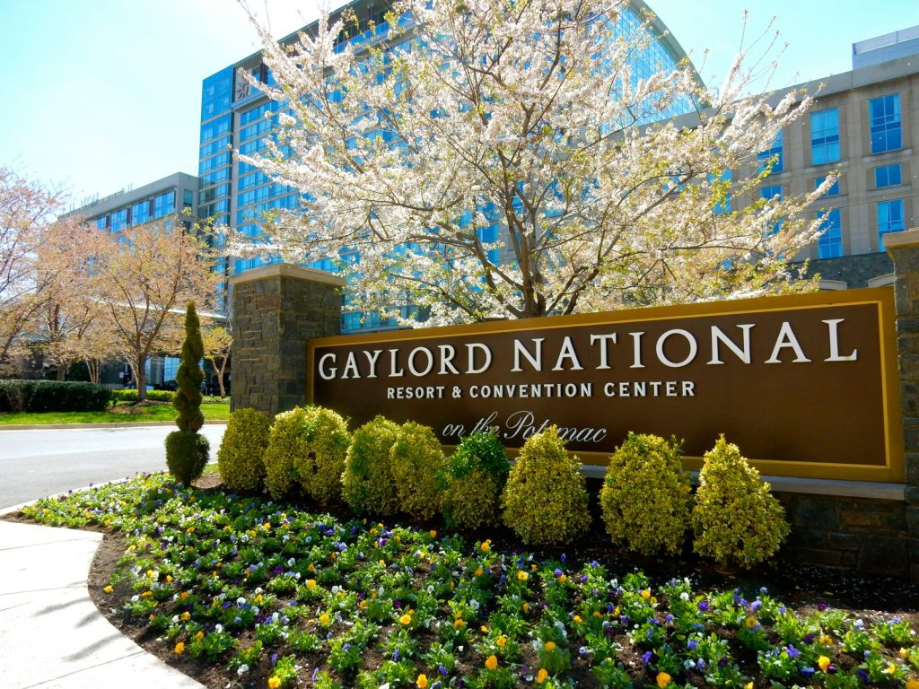 Exterior of Gaylord National Resort and Convention Center