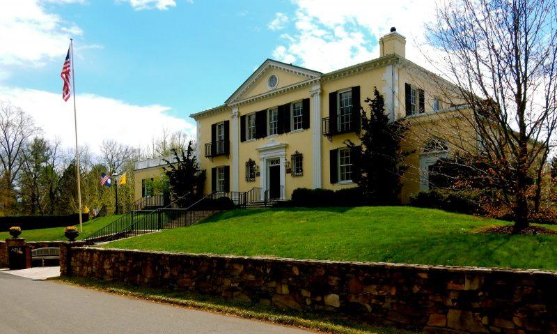 Exterior of Mansion at Airlie Resort, Warrenton VA