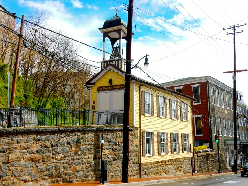 Firehouse Museum, Ellicott City MD @GetawayMavens