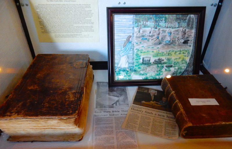 German Bibles, 1739, Strasburg Museum VA