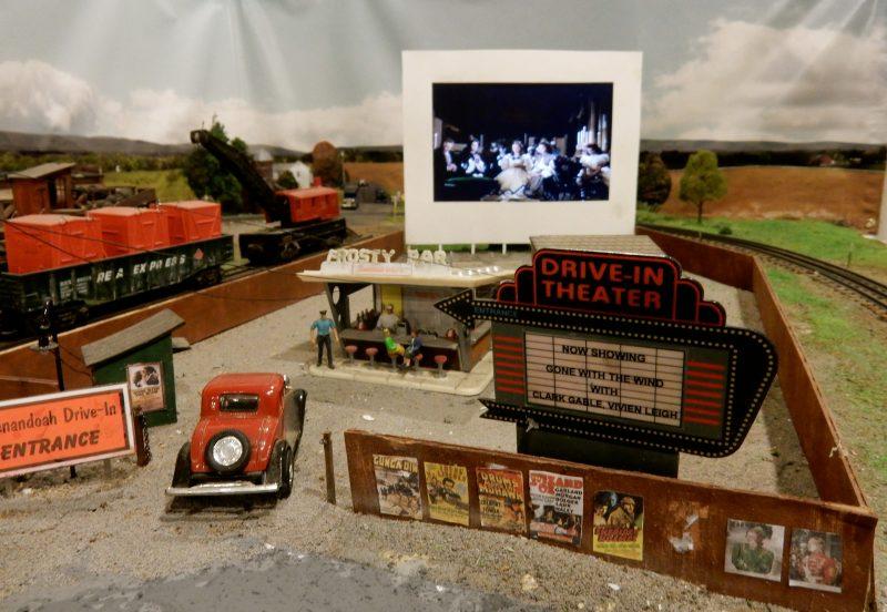 Gone With the Wind, Train Display, Strasburg VA