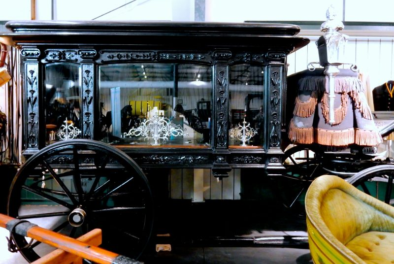 Hearse Carriage, Winmill Collection, Morven Park, Leesburg VA