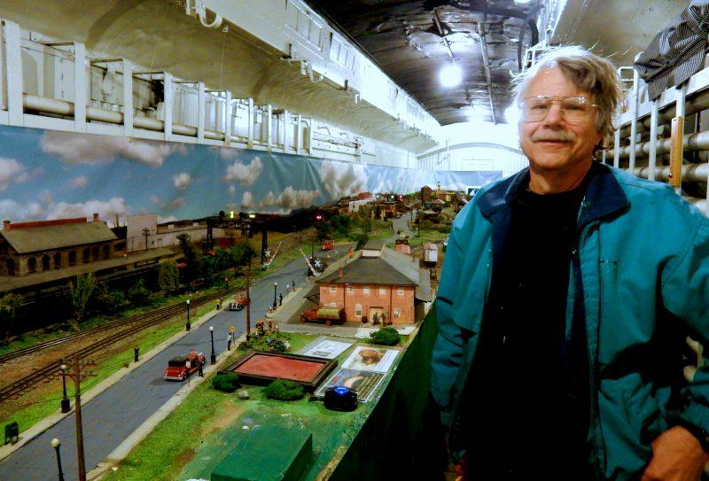 John Schreiner Model Train Diarama, Strasburg Museum, VA