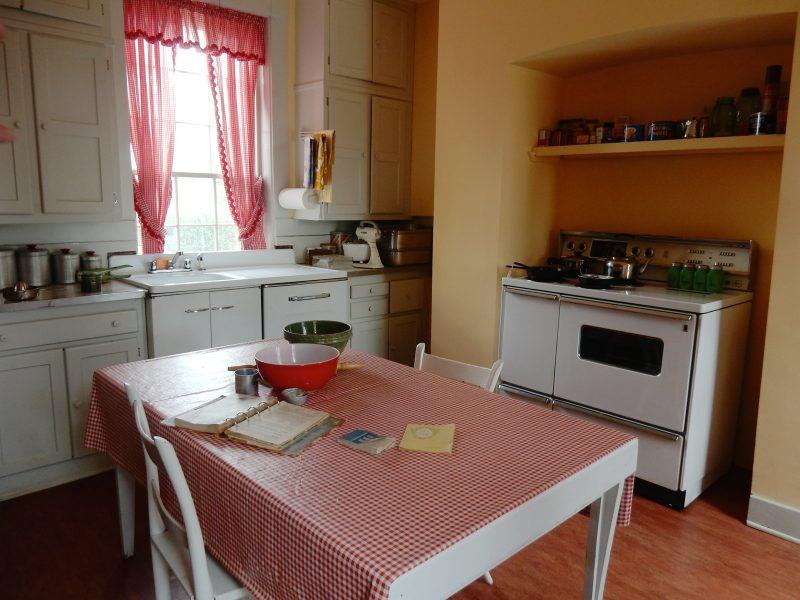 Kitchen at Marshall House, Leesburg VA