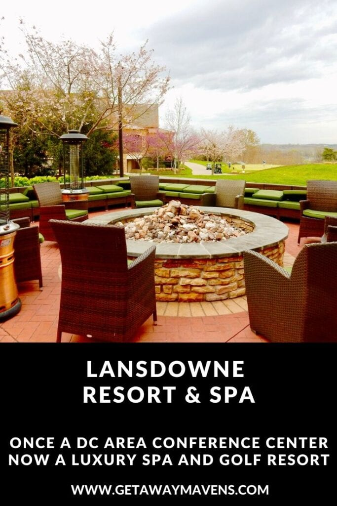 Lansdowne Resort VA Pin
