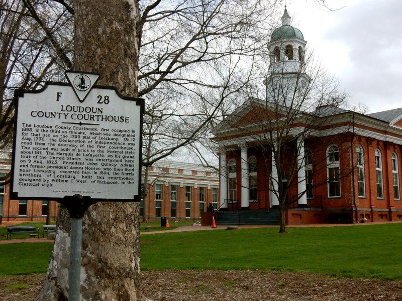 Loudoun County Courthouse, Leesville VA