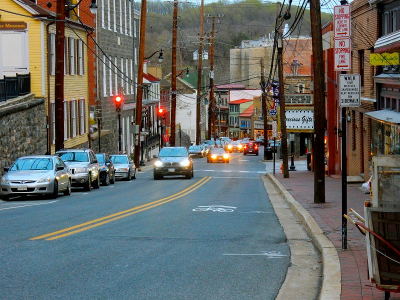 Main Street, Historic Ellicott City, MD @GetawayMavens