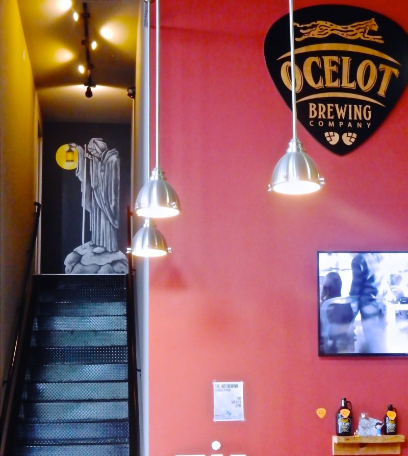 Ocelot Brewing Logo, VA