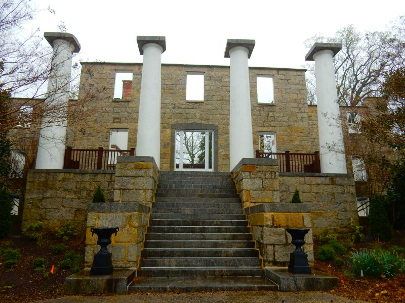 Patapsco Female Institute Ruins, Ellicott City MD @GetawayMavens