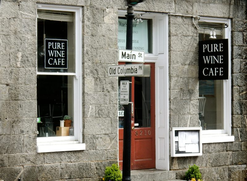 Pure Wine Cafe, Ellicott City MD @GetawayMavens