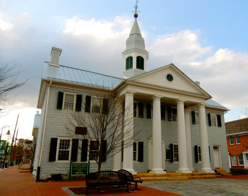 Shenandoah County Courthouse, Woodstock VA - Woodstock Courthouse Museum and Visitors Center, Woodstock. A symbol of Shenandoah, this is the oldest working courthouse west of the Blue Ridge. @GetawayMavens