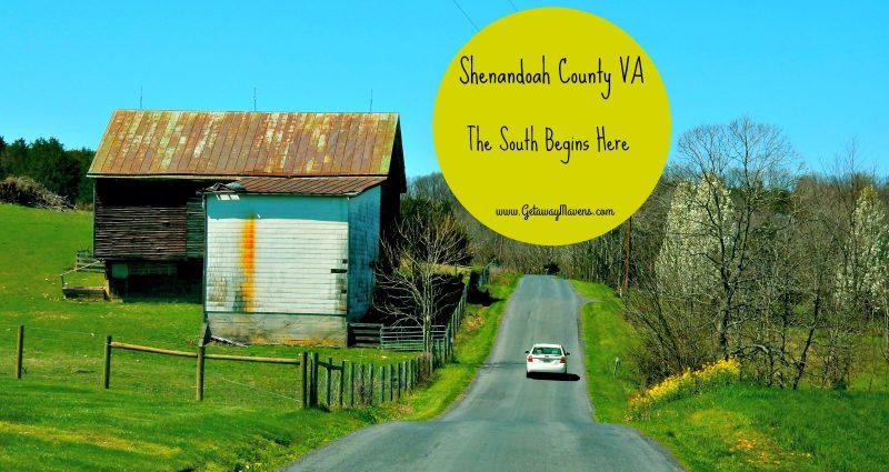 Shenandoah County - The South Begins Here #roadtrip #VisitVirginia @GetawayMavens