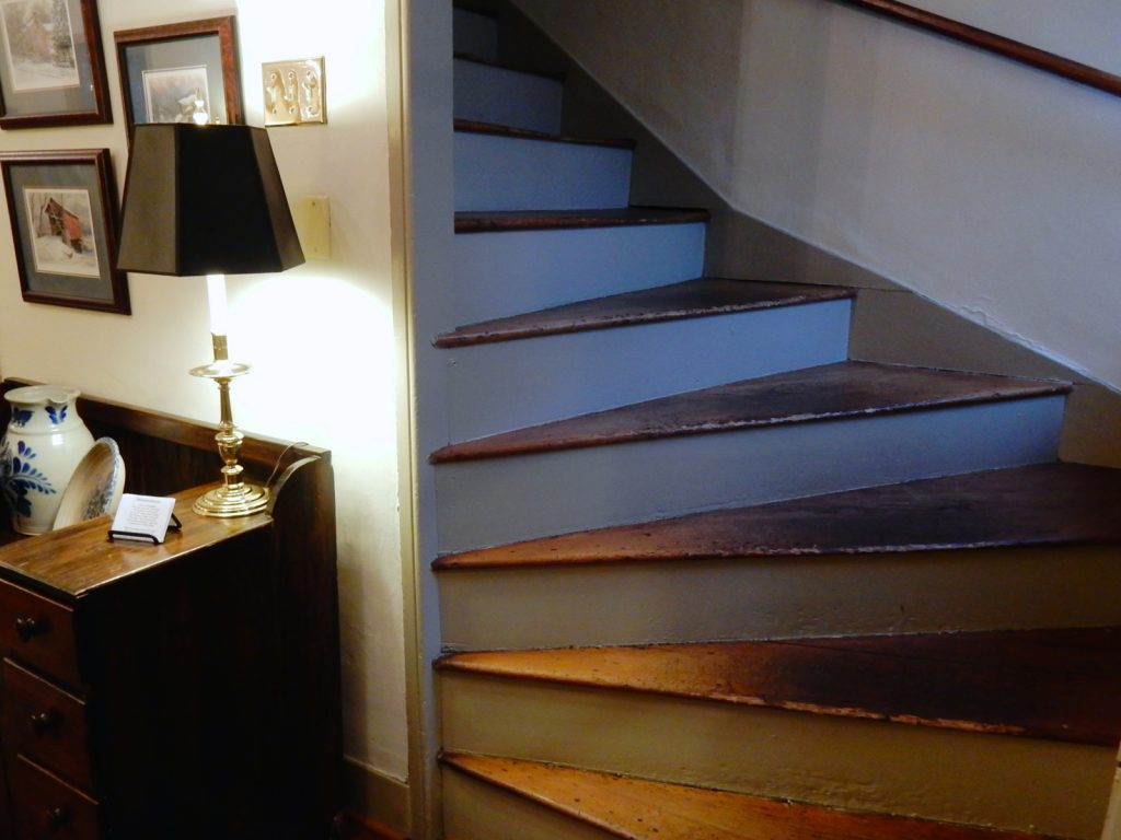 Stairs - Wayside Inn
