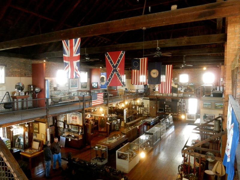 Strasburg Museum from above, Strasburg VA - Black history, Native American History, Civil War, German heritage, farming – you'll find it all here. @GetawayMavens