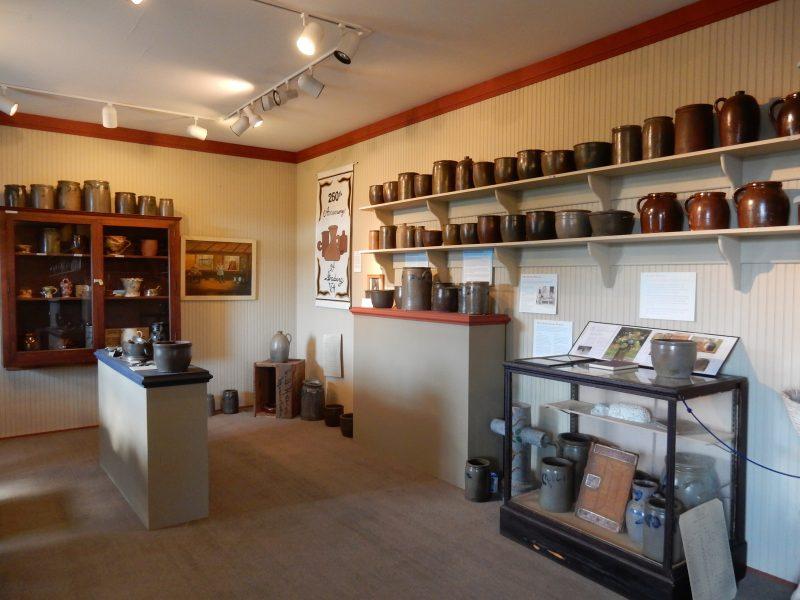 Strasburg Pottery, Strasburg Museum VA