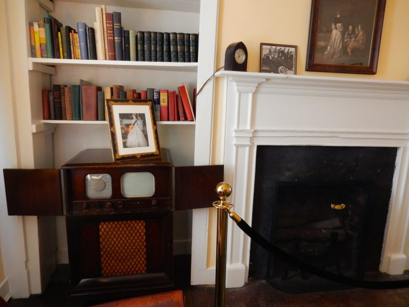 TV Room, George Marshall House, Leesburg VA