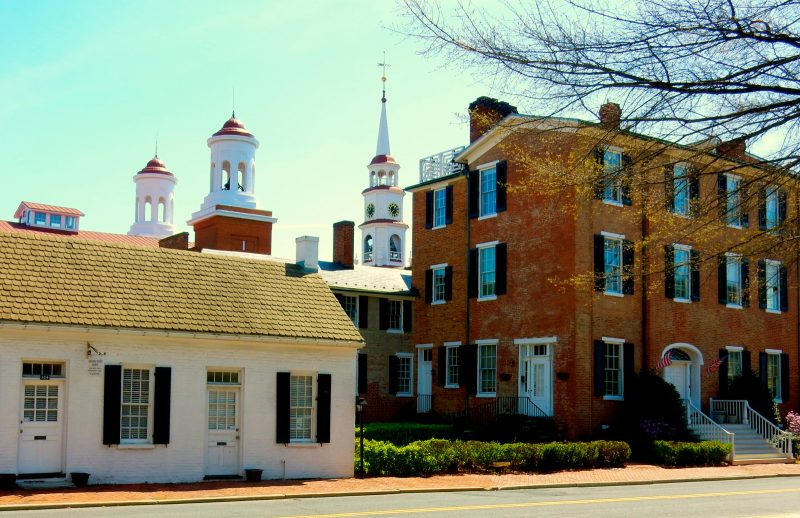The Clustered Spires of Frederick MD