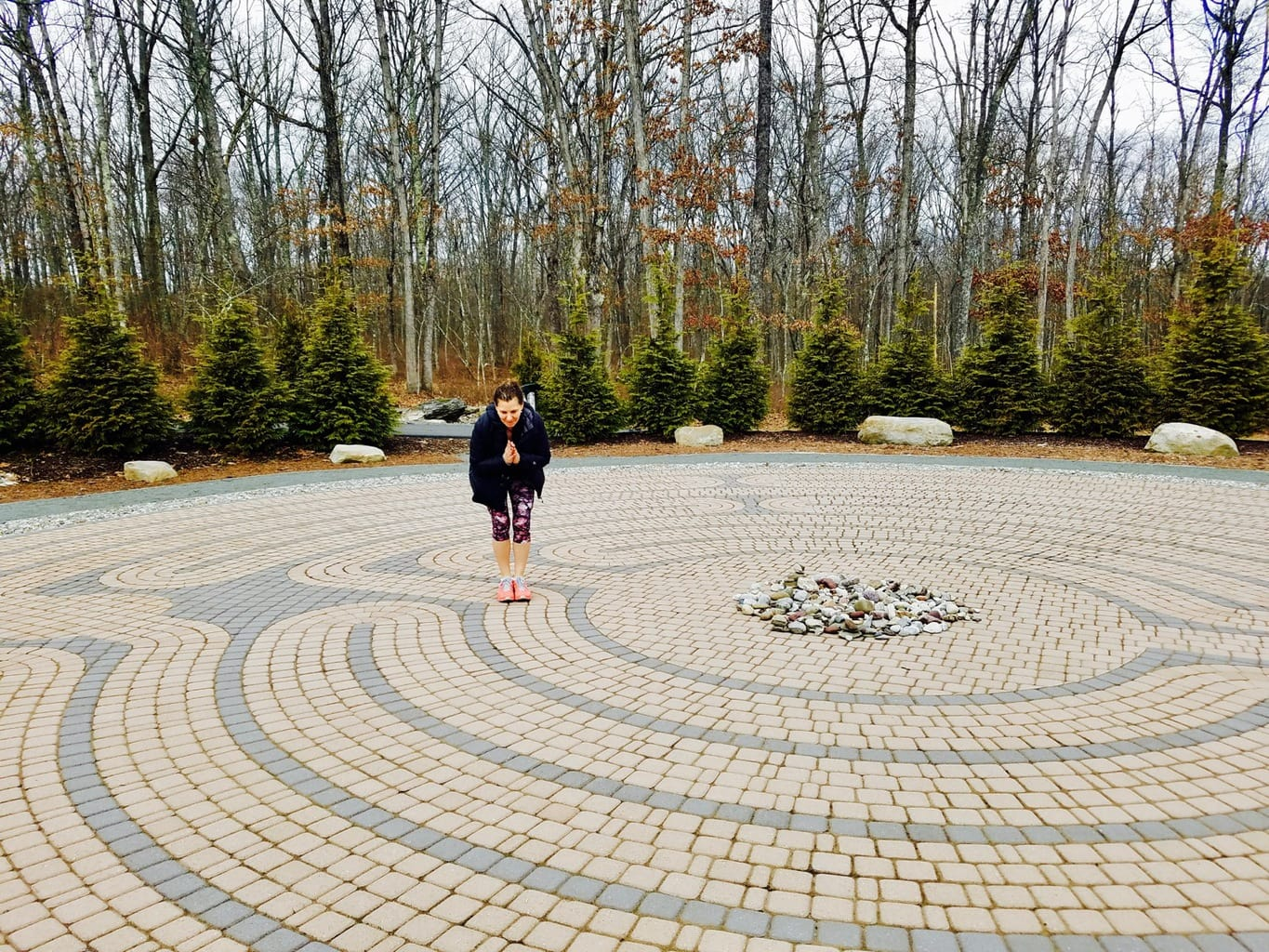Lodge at Woodloch Labyrinth