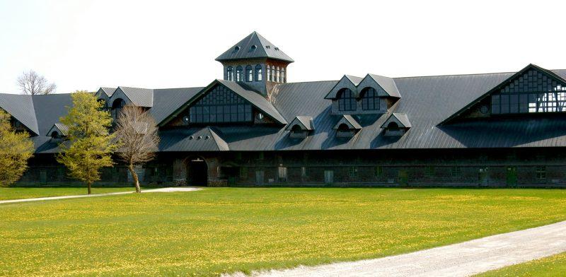 Barn buildings, Shelburne Farms, VT