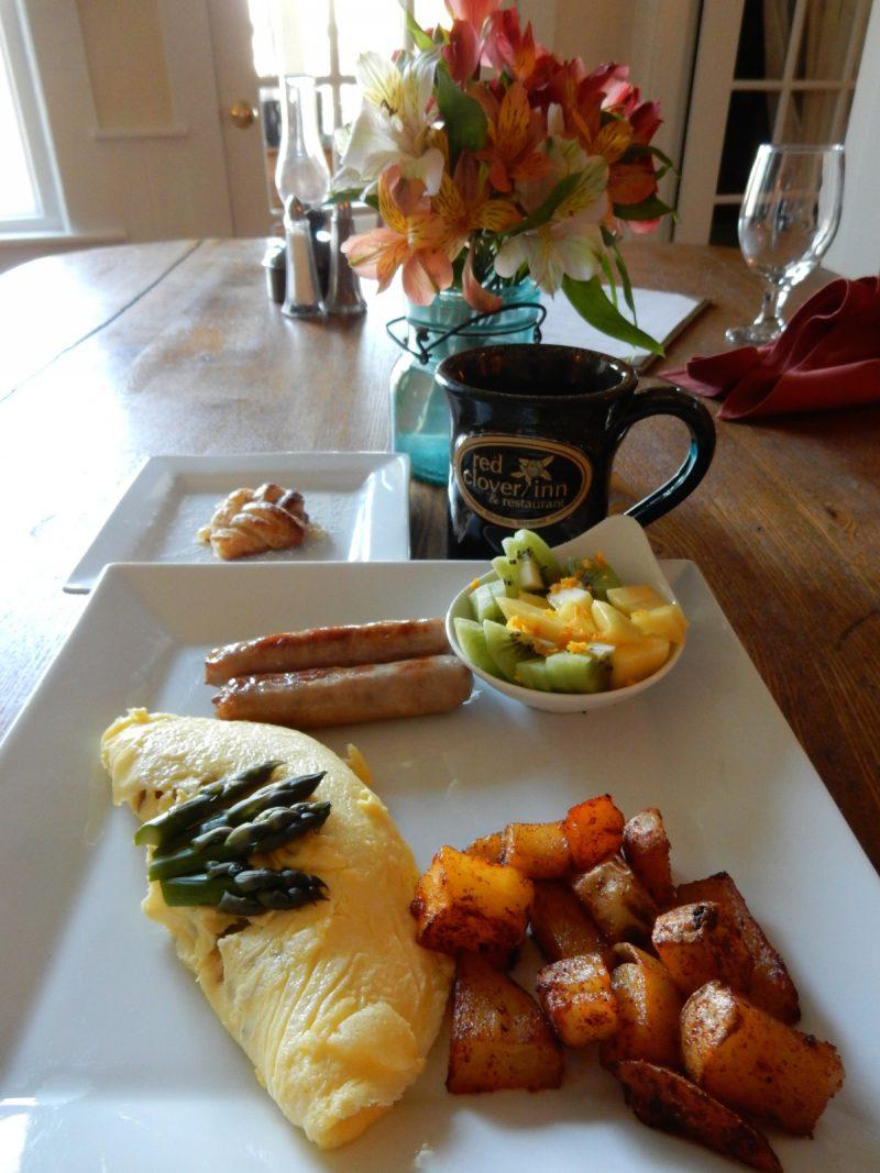 Breakfast, Red Clover Inn, Mendon VT