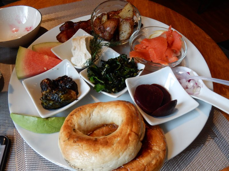 Breakfast sampler, Made Inn Vermont, Burlington VT