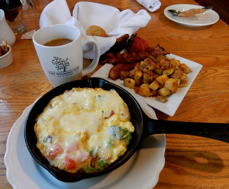 Cast Iron Breakfast, The Wilmington Inn and Tavern, Wilmington VT