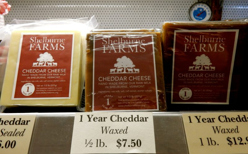 Cheddar Cheese, Shelburne Farms, VT
