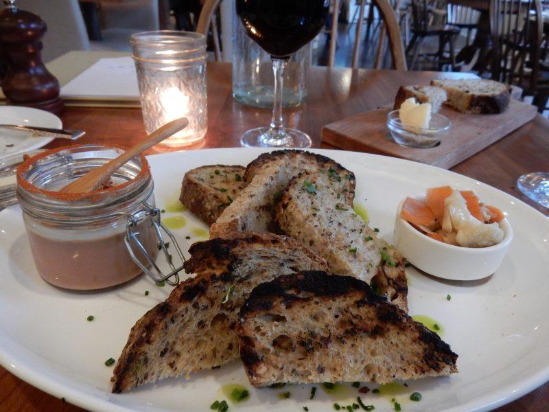 Chicken Liver Mousse, Artisan Restaurant, Newfane VT