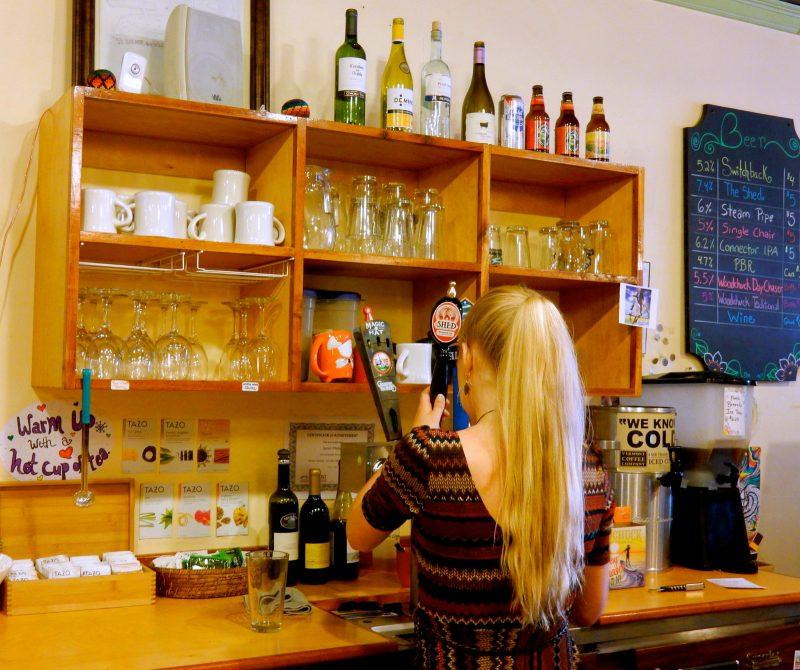 Craft beer at Bagitos, Montpelier VT