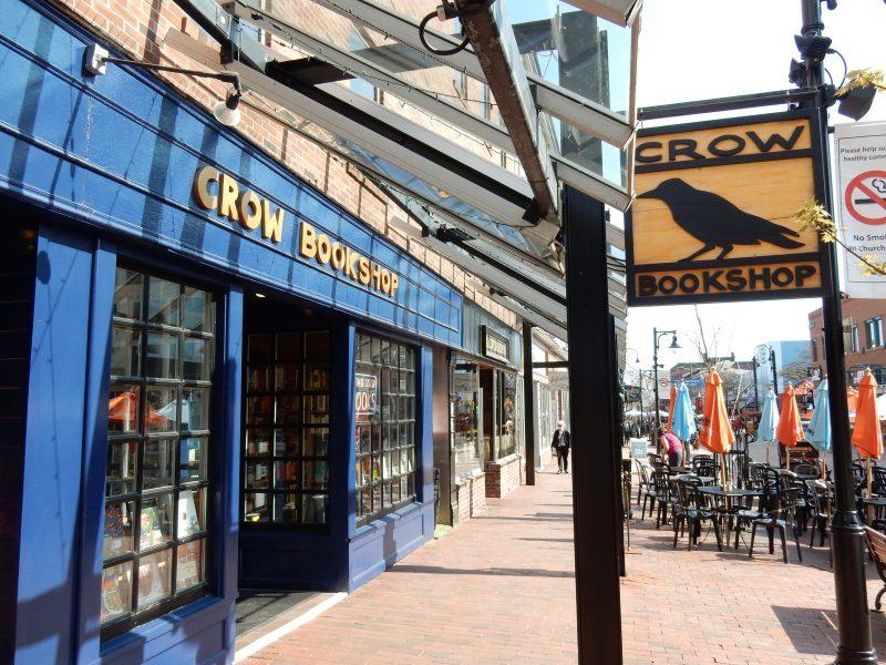 Crow Bookshop, Burlington VT
