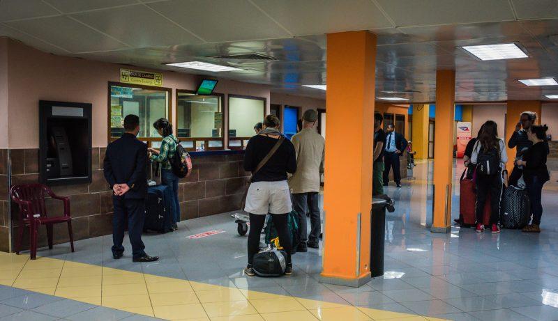 Cuba Money Exchange booth at José Martí International Airport
