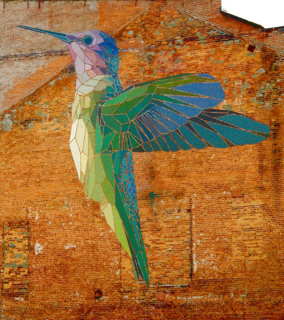 Hummingbird Mural Burlington VT