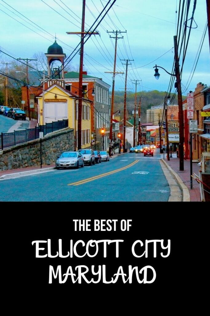 Ellicott City MD Pin