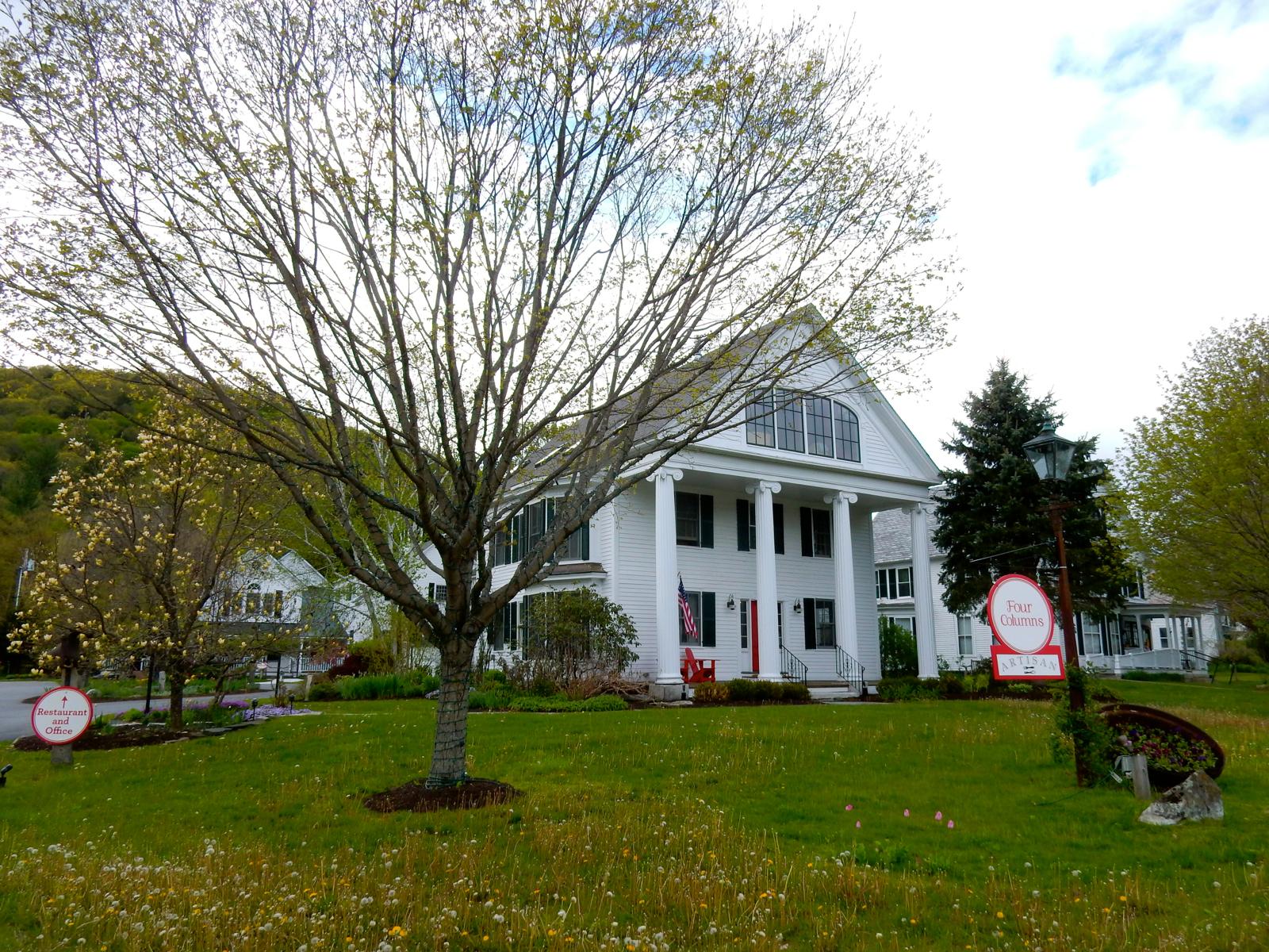 Exterior, Four Columns Inn, Newfane VT