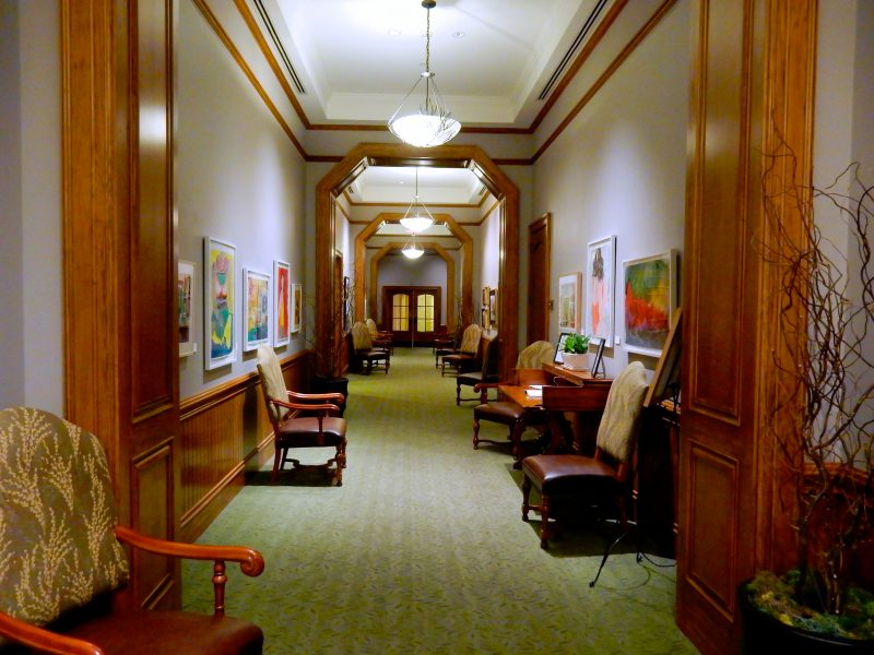 Gallery Hallway, Lodge at Woodloch