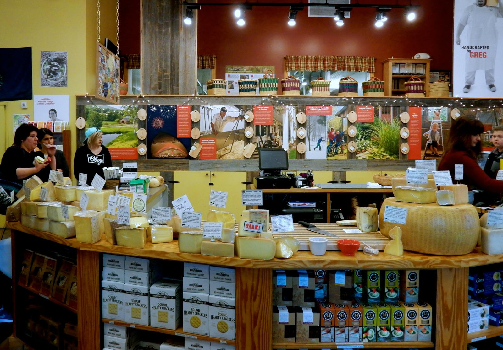 Grafton Cheese Co Brattleboro Vt