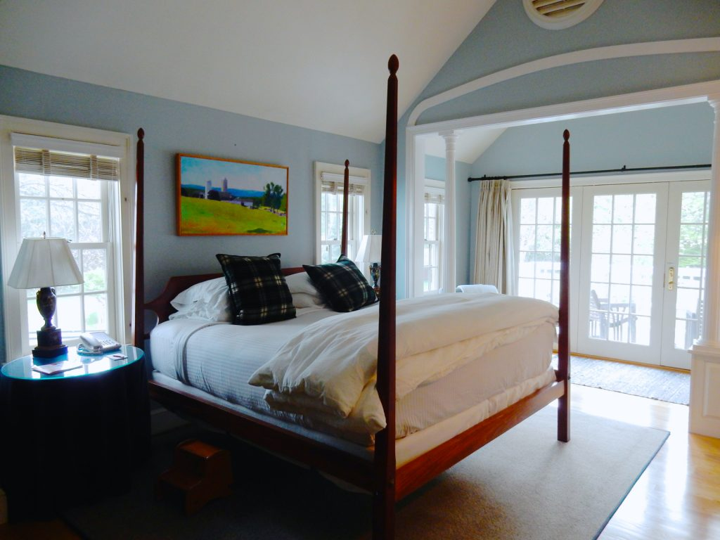 Guestroom at Four Columns Inn Newfane VT