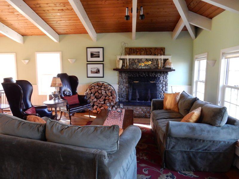 Living Room, Red Clover Inn, Mendon VT