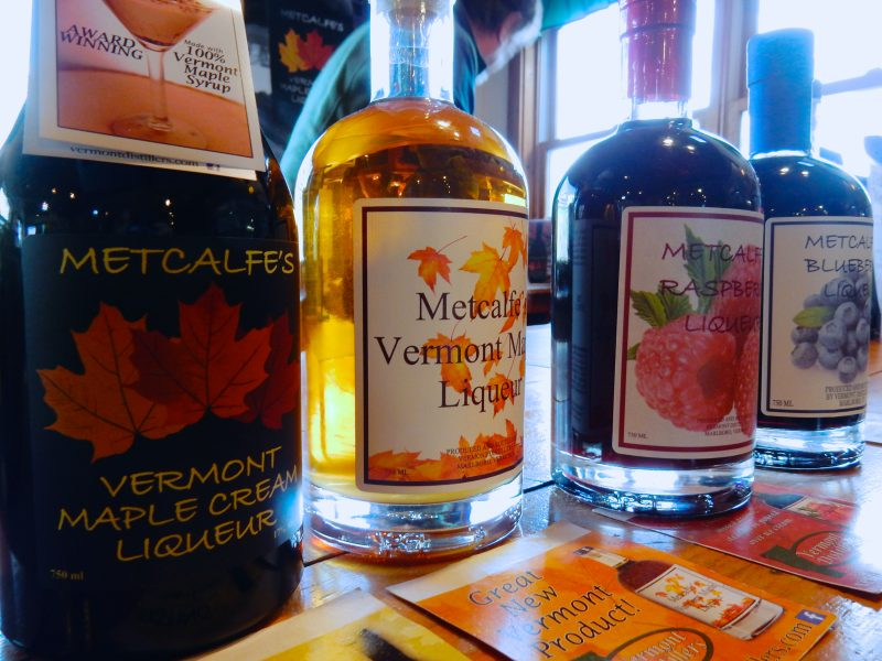 Metcalfe's Vermont Distillers Liqueurs, Hogback Mountain Gift Shop, Marlboro VT