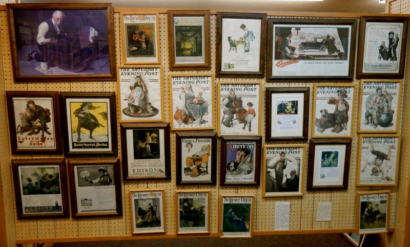 Norman Rockwell Museum Magazine Covers, Rutland VT