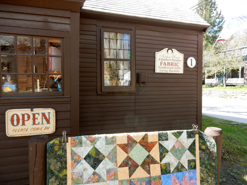 Norton House, A Quilters Paradise, Wilmington VT