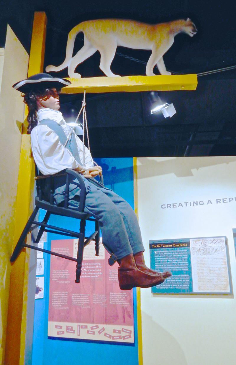 Sam Adams Punished, Vermont History Museum, Montpelier VT