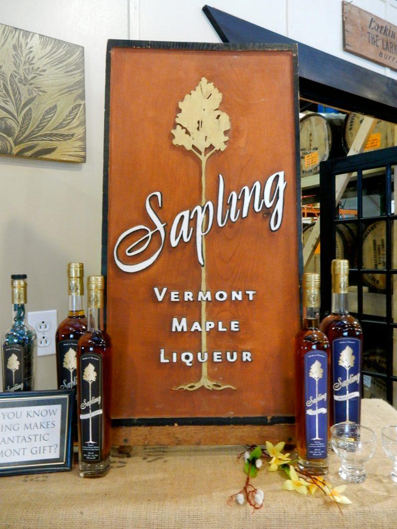 Sapling Liqueur, Saxton's River Distillery, Brattleboro VT