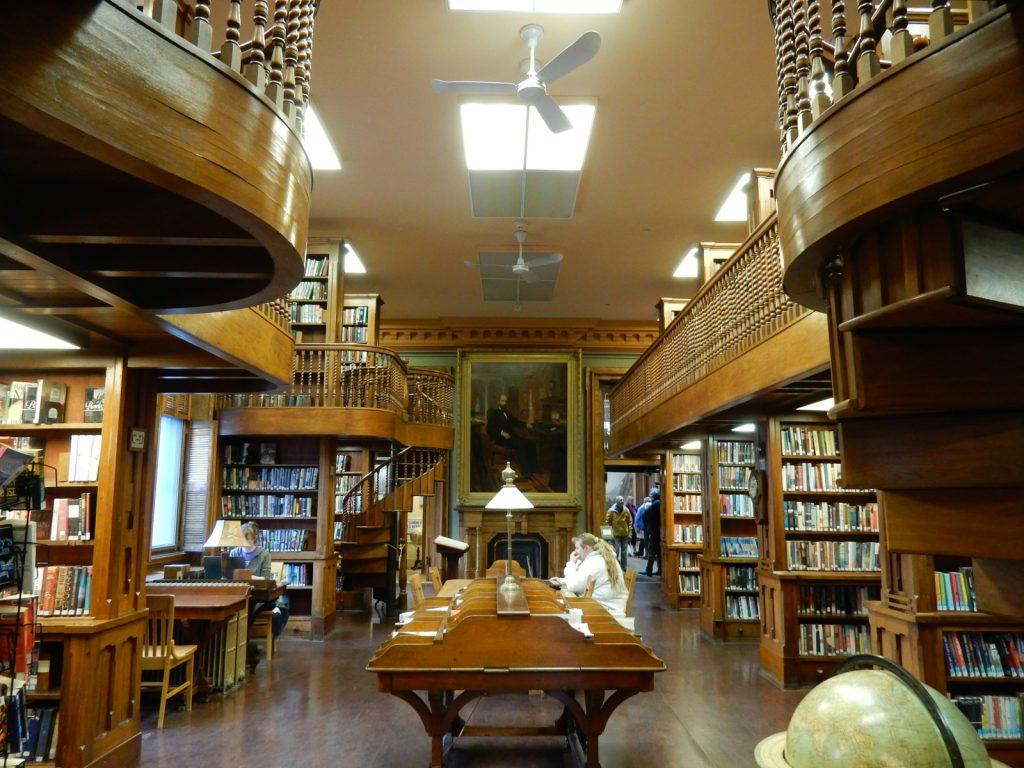 Johnsbury Athenaeum, St. Johnsbury, VT.