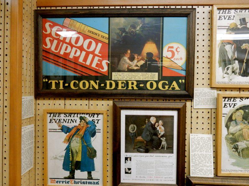 Ticonderoga Pencil Ad, Norman Rockwell Museum, Rutland VT